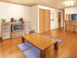 anime background scenery indoor landscape backgrounds manga room bedroom apartment episode living night animation bedrooms interactive landscapes animelandscape casa butler